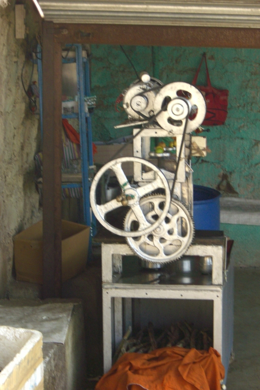 Sugarcane press